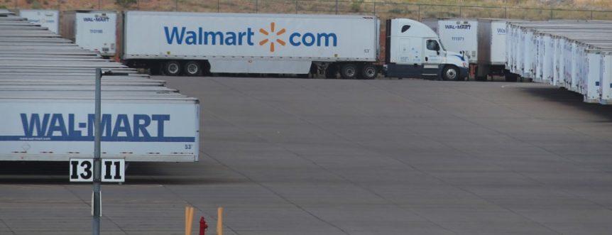 Walmart semi